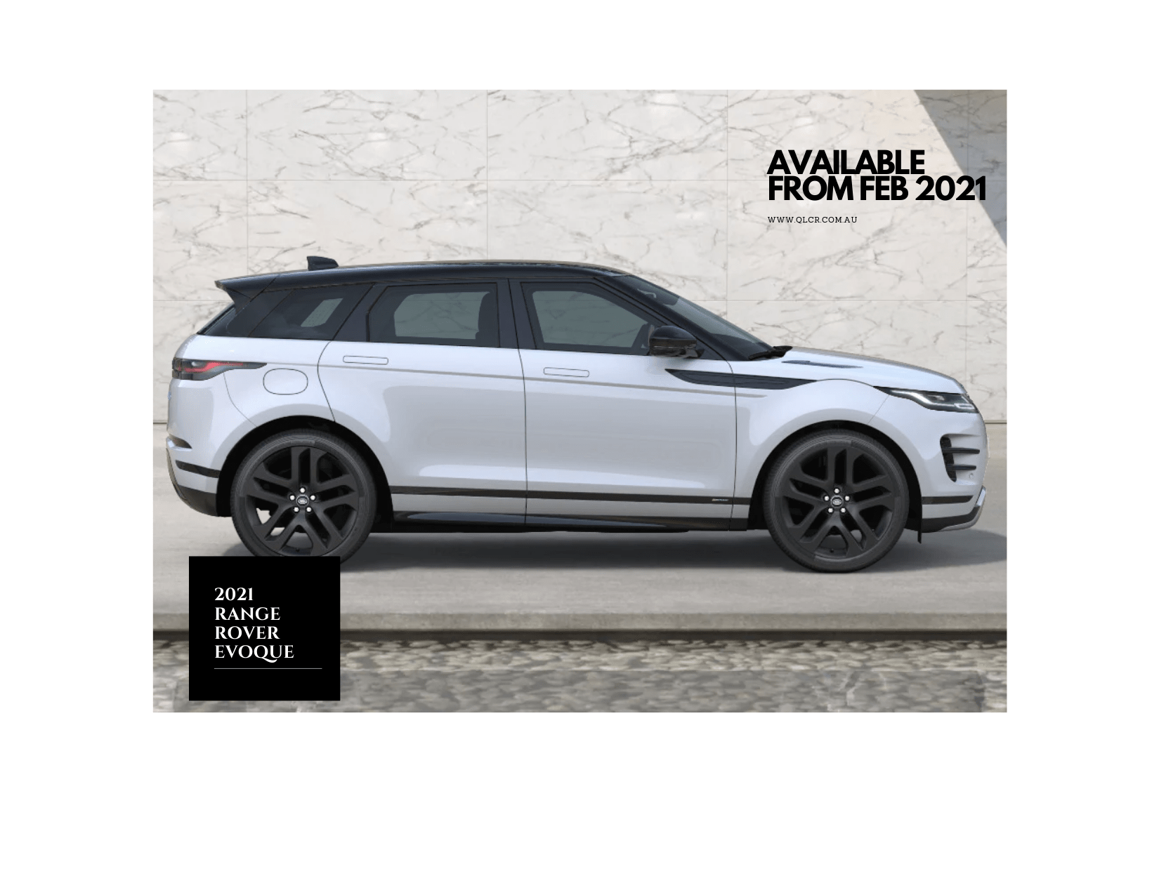 Range Rover Evoque Hire  Gold Coast & Brisbane   -  Range Rover Evoque Hire  Rental & Hire
